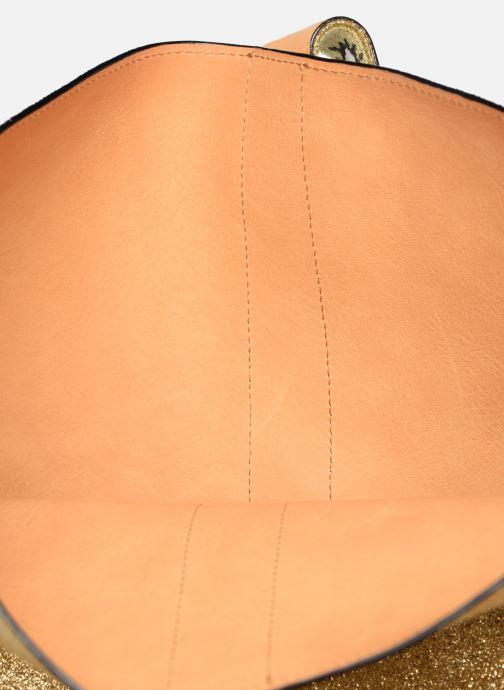 Handtaschen Sainte Isaure Jerry gold/bronze ansicht von hinten