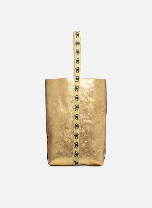 Bolsos de mano Sainte Isaure Jerry Oro y bronce vista de detalle / par