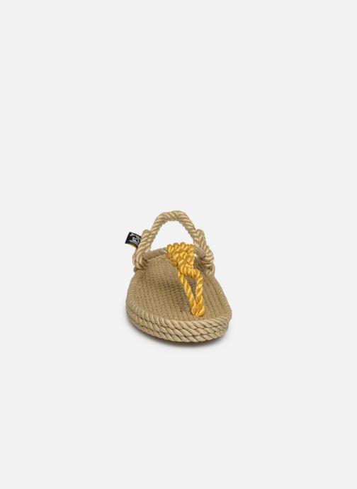 Sandales et nu-pieds Nomadic State of Mind Athena W Or et bronze vue portées chaussures