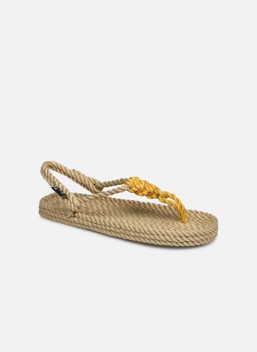 Sandales et nu-pieds Nomadic State of Mind Athena W Or et bronze vue détail/paire