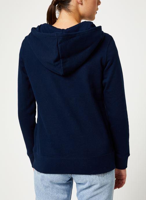 adidas originals Sweatshirt hoodie - Sweat-Shirt à capuche Trefoil (Bleu) - Vêtements chez Sarenza (399152) LBoipMRS