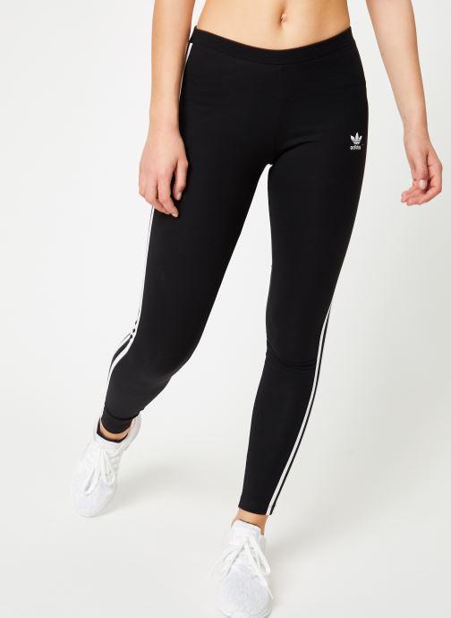 Vêtements adidas originals 3 Stripes Tight Noir vue détail/paire