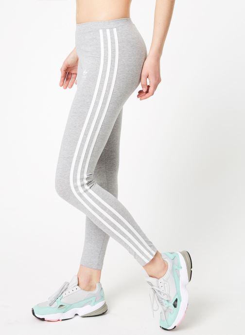 Vêtements adidas originals 3 Stripes Tight Gris vue détail/paire
