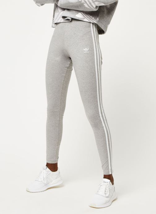 Vêtements adidas originals 3 Stripes Tight Gris vue détail/paire