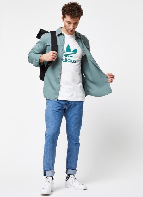 adidas originals T-shirt - Trefoil T-Shirt (Blanc) - Vêtements (433292)