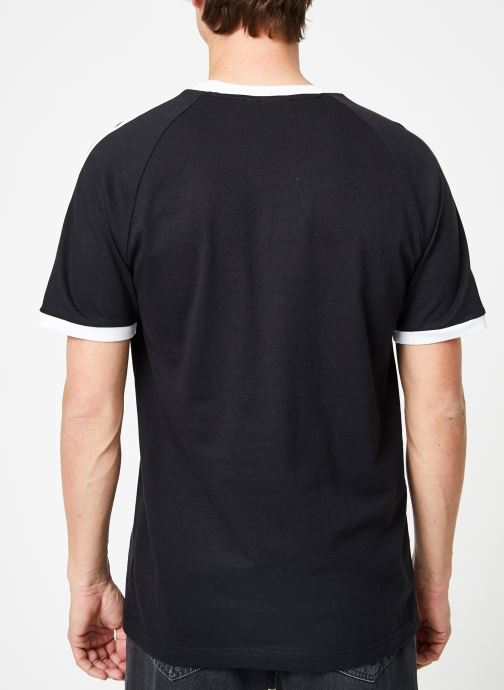 Kleding adidas originals 3-Stripes Tee Zwart model