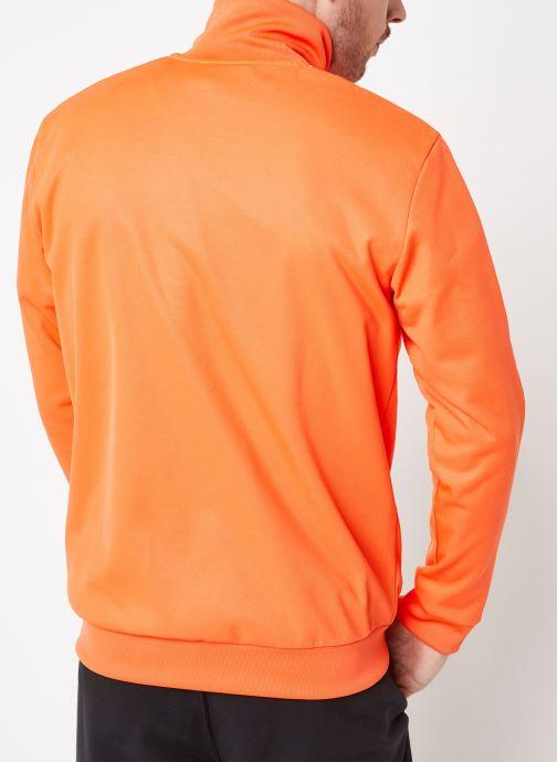 Vêtements adidas originals Beckenbauer Tt Orange vue portées chaussures
