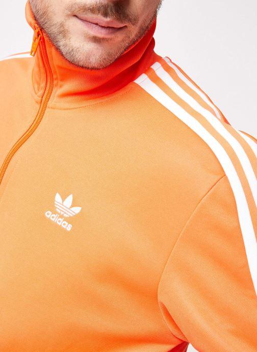 Vêtements adidas originals Beckenbauer Tt Orange vue face