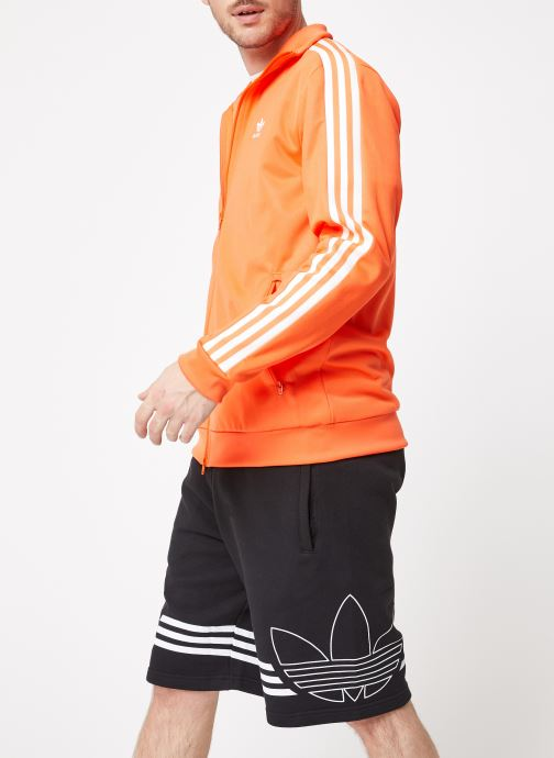 Vêtements adidas originals Beckenbauer Tt Orange vue droite