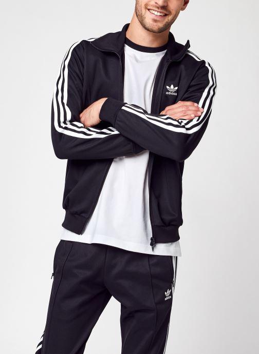 Vêtements adidas originals Beckenbauer Tt Noir vue détail/paire