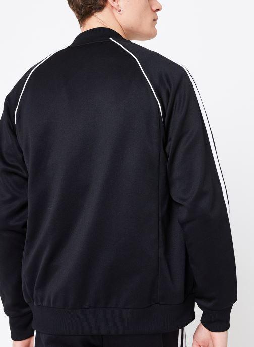 Kleding adidas originals Veste de Survetement SST Zwart model