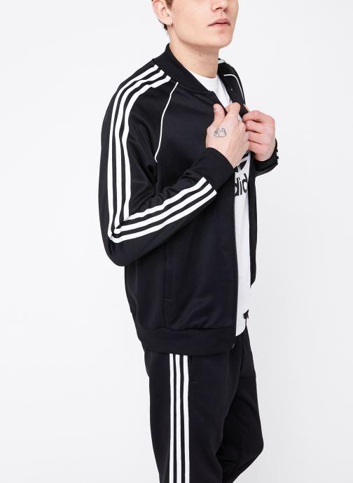 Kleding adidas originals Veste de Survetement SST Zwart rechts