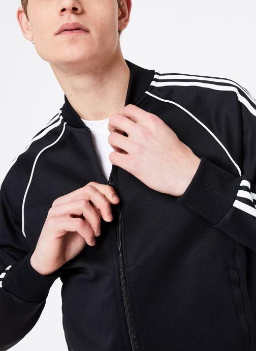 Kleding adidas originals Veste de Survetement SST Zwart detail