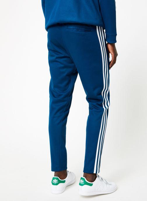Vêtements adidas originals Beckenbauer Tp Bleu vue portées chaussures