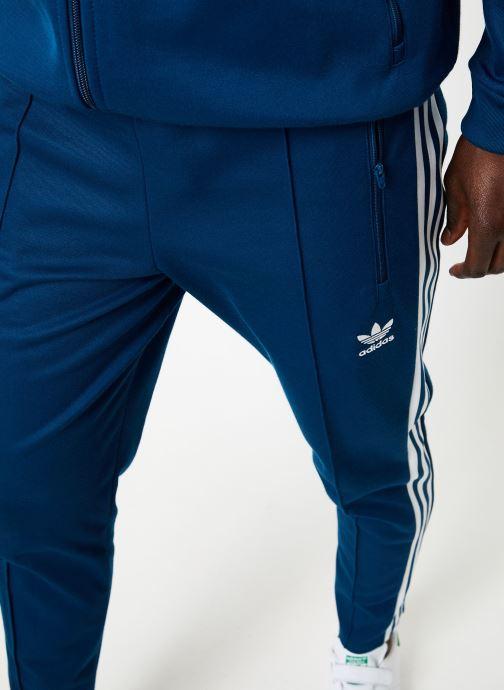 Vêtements adidas originals Beckenbauer Tp Bleu vue face