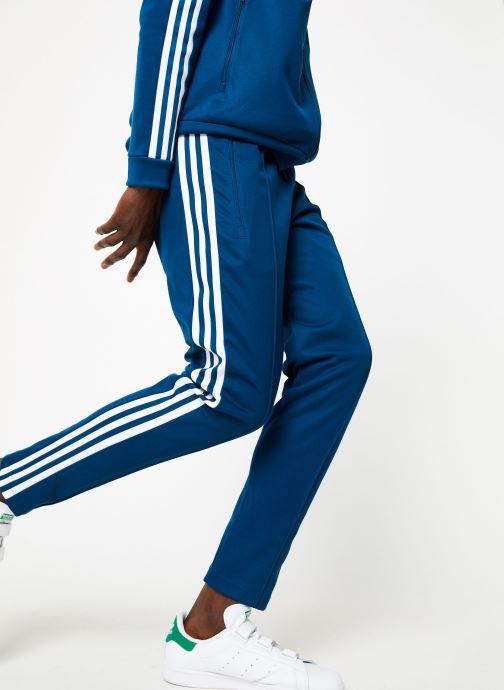 Vêtements adidas originals Beckenbauer Tp Bleu vue détail/paire