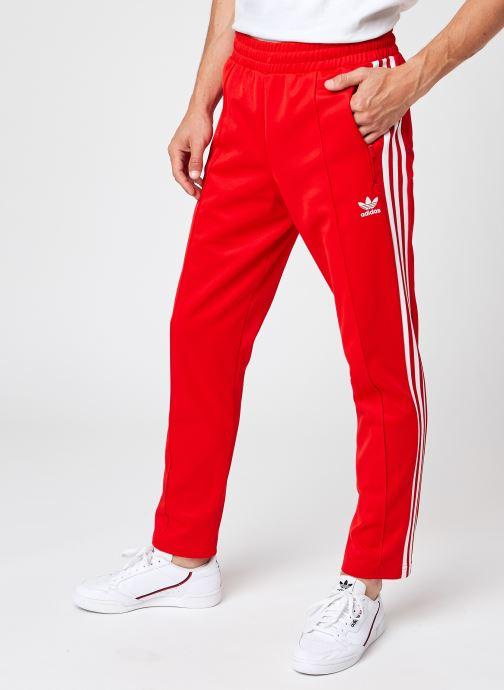 Vêtements adidas originals Beckenbauer Tp Rouge vue détail/paire