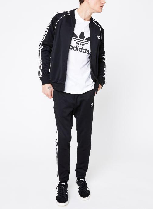Vêtements adidas originals Sst Track Pants Noir vue bas / vue portée sac