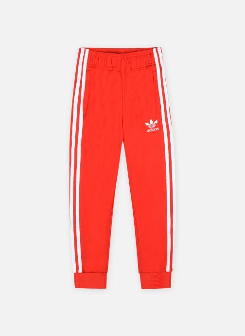 Vêtements adidas originals Sst Track Pants Rouge vue détail/paire