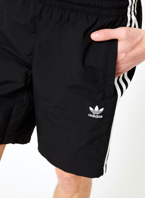 Vêtements adidas originals 3-Stripes Swim Noir vue face