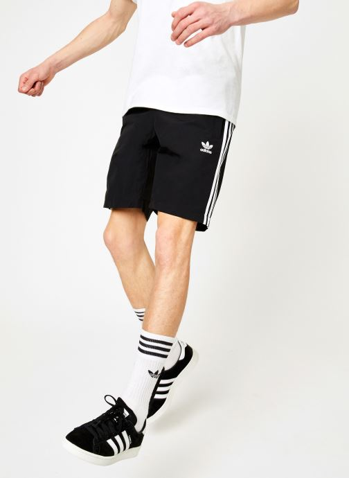 Vêtements adidas originals 3-Stripes Swim Noir vue détail/paire