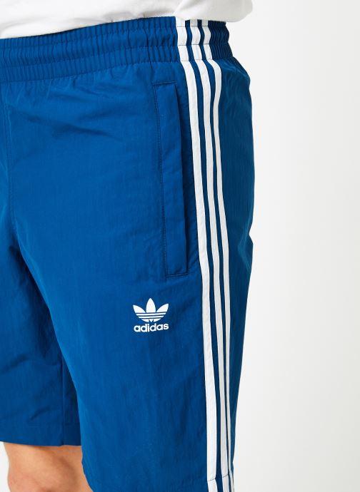 Vêtements adidas originals 3-Stripes Swim Bleu vue face