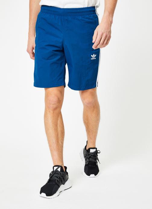 Vêtements adidas originals 3-Stripes Swim Bleu vue détail/paire