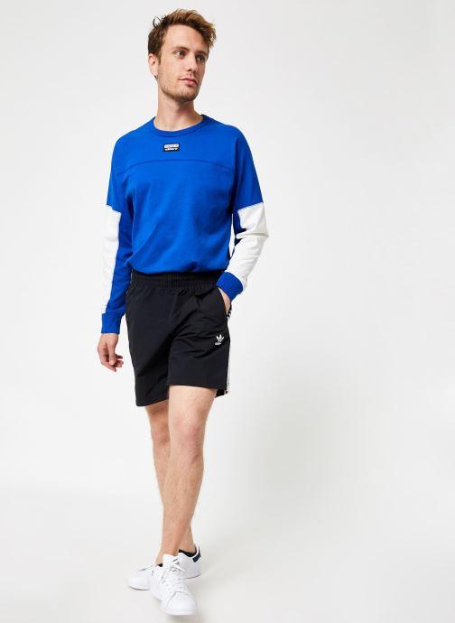 Vêtements adidas originals 3-Stripes Swim Noir vue bas / vue portée sac