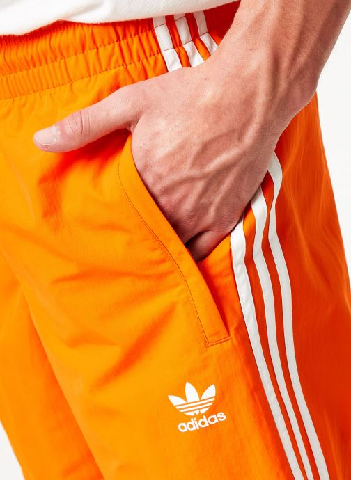 Vêtements adidas originals 3-Stripes Swim Orange vue face