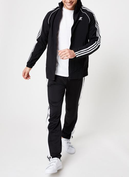 Windbreaker Sst Adidas Originals Chez noir Vêtements 365066 TEvfvqw8