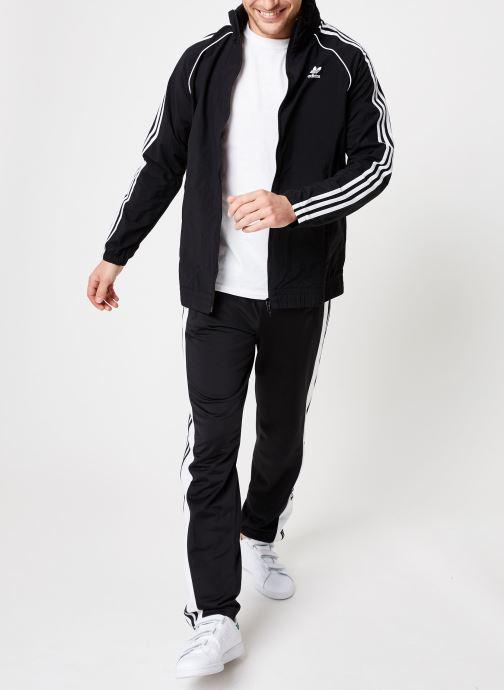 Kleding adidas originals Sst Windbreaker Zwart onder