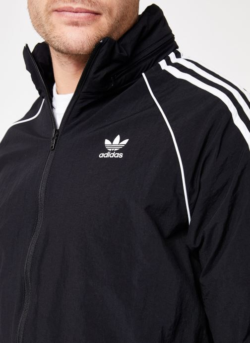 Vêtements adidas originals Sst Windbreaker Noir vue face