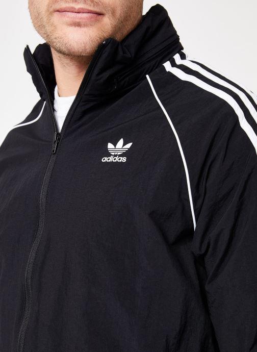 Kleding adidas originals Sst Windbreaker Zwart voorkant