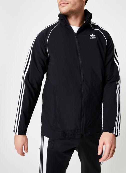 Kleding adidas originals Sst Windbreaker Zwart detail