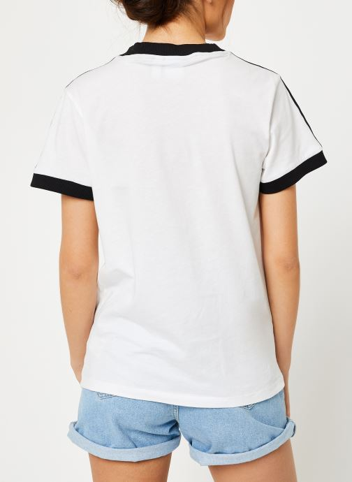 Originals Adidas 3 Blanc Tee Stripes CPWAvqwnZ