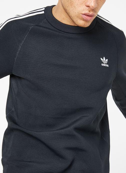 Vêtements adidas originals Knit Crew Noir vue détail/paire