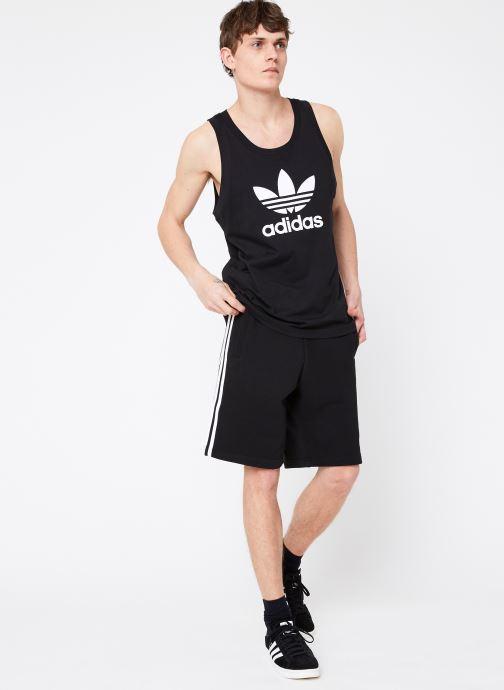 Vêtements adidas originals 3-Stripe Short Noir vue bas / vue portée sac