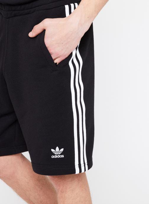 Vêtements adidas originals 3-Stripe Short Noir vue face