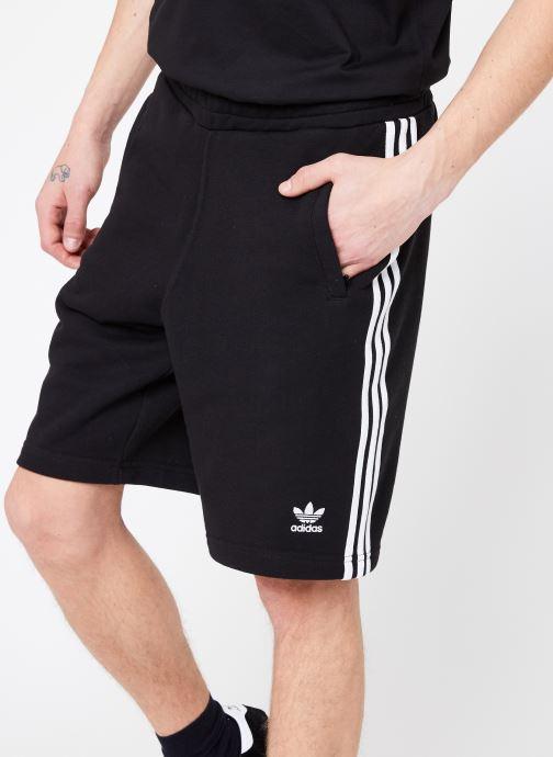 Vêtements adidas originals 3-Stripe Short Noir vue détail/paire