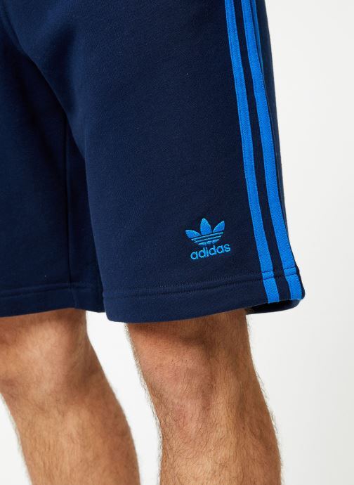 Vêtements adidas originals 3-Stripe Short Bleu vue face