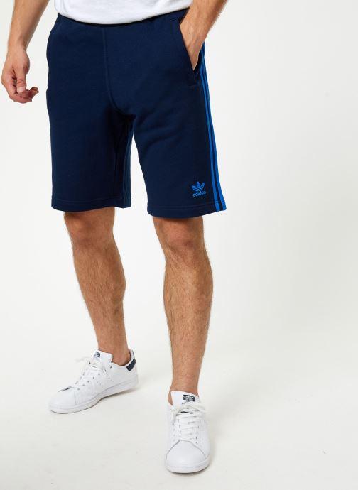 Vêtements adidas originals 3-Stripe Short Bleu vue détail/paire