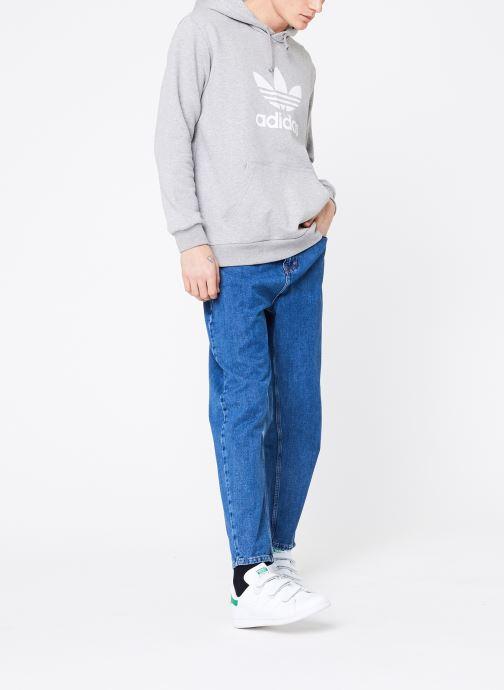 Tøj adidas originals Trefoil Hoodie Grå se forneden