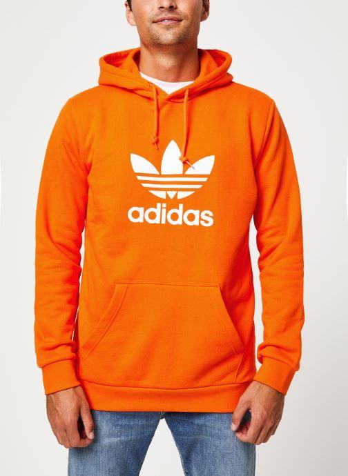 Vêtements adidas originals Trefoil Hoodie Orange vue détail/paire