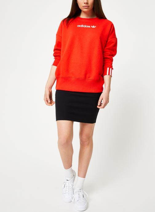 adidas originals Sweatshirt - Coeeze Sweat (Rouge) - Vêtements (365085)