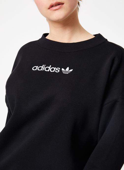 Kleding adidas originals Coeeze Sweat Zwart voorkant