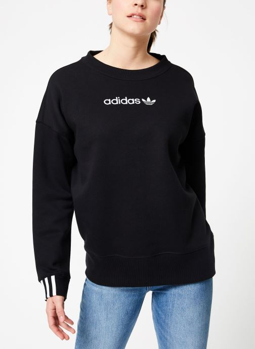 Kleding adidas originals Coeeze Sweat Zwart rechts
