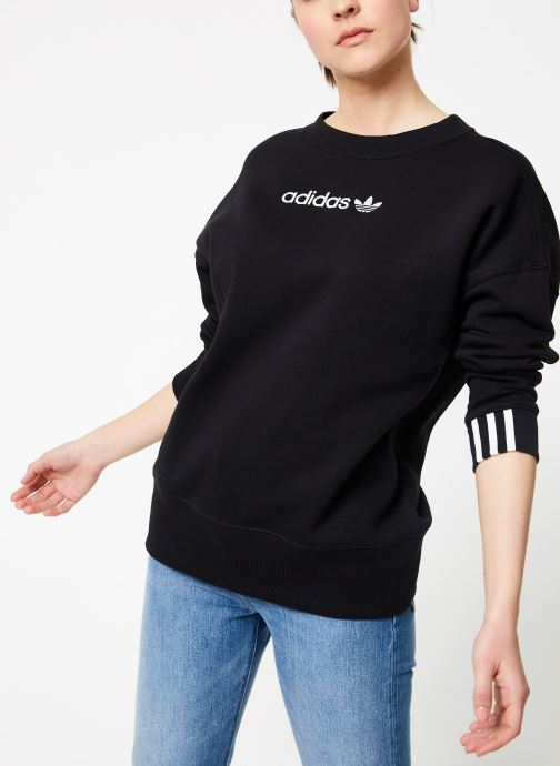 Kleding adidas originals Coeeze Sweat Zwart detail