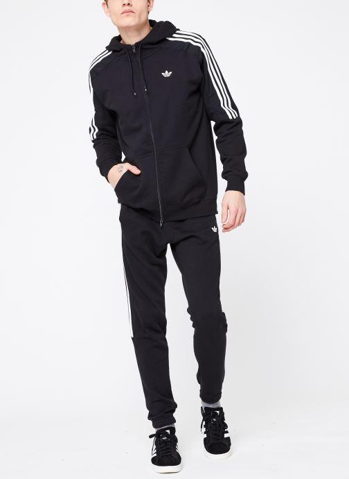 Vêtements adidas originals Radkin Fzh Noir vue bas / vue portée sac