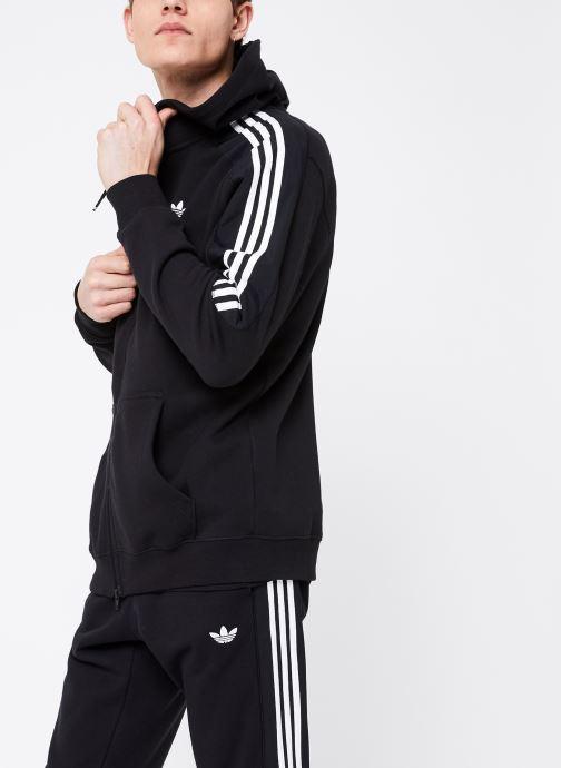 Vêtements adidas originals Radkin Fzh Noir vue droite