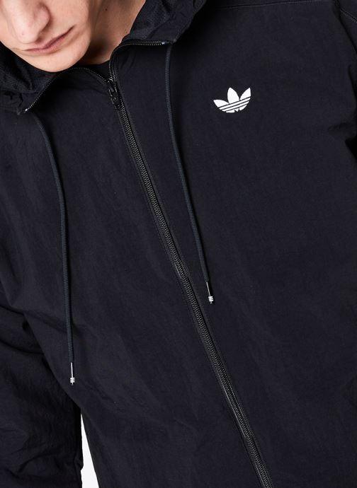 Kleding adidas originals Radkin Wb Zwart voorkant